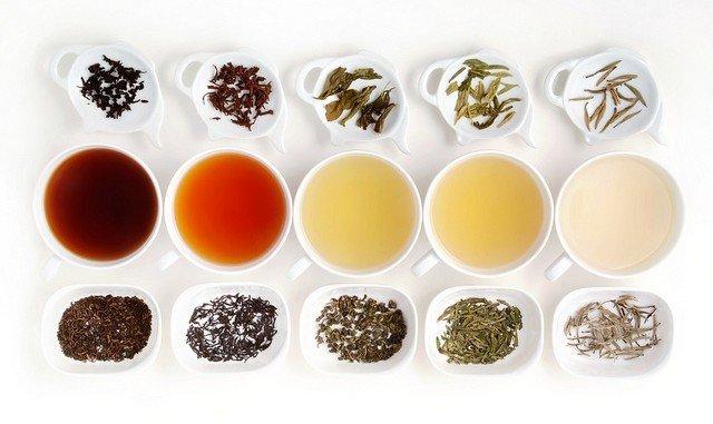 Keuze uit thee.